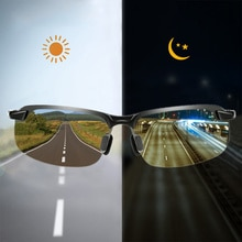 Photochromic Sunglasses Men Polarized Driving Chameleon Glasses Male Change Color Sun Glasses Day Ni