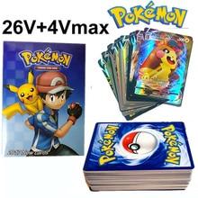 30PCS TAKARA TOMY Pokemon Cards Vmax Shining Card English Sword Shield Booster Box Collection Tradin