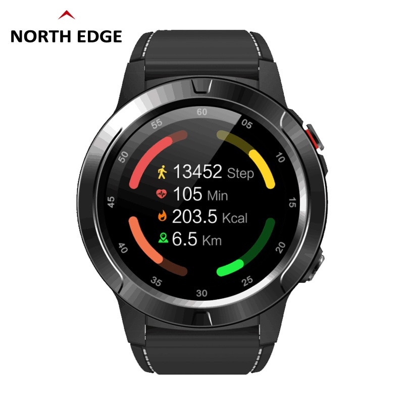NORTH EDGE Smart Watch GPS Bluetooth Fashion Sports Waterproof Heart Rate Tracking Phone Smartwatch enlarge