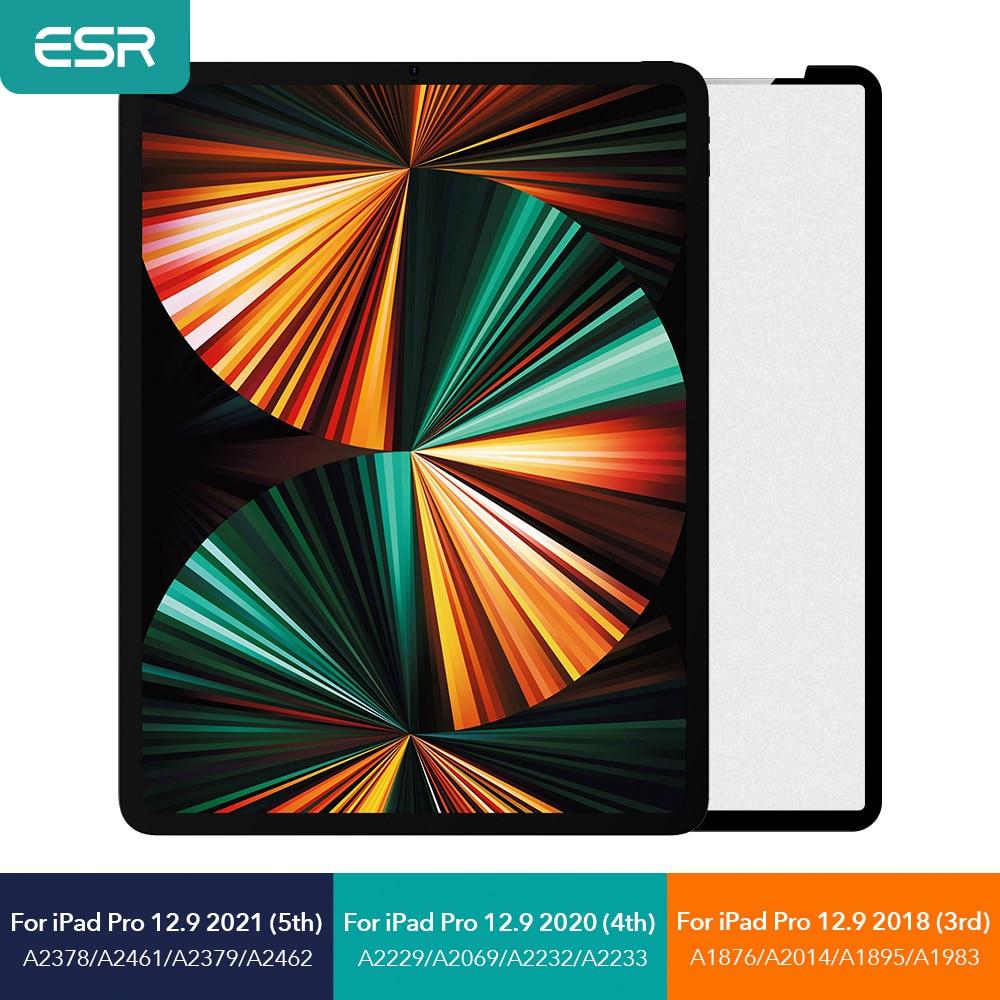ESR для iPad mini 6 для iPad Pro 11 12,9 Съемная матовая бумага Feel Film для iPad 9 2021 8 7 Gen Защита экрана для iPad Air 4