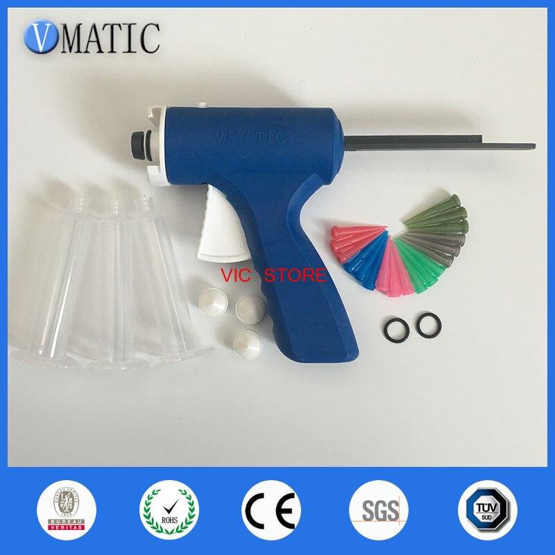 Pistola de pegamento Manual de 10 CC azul con envío gratis