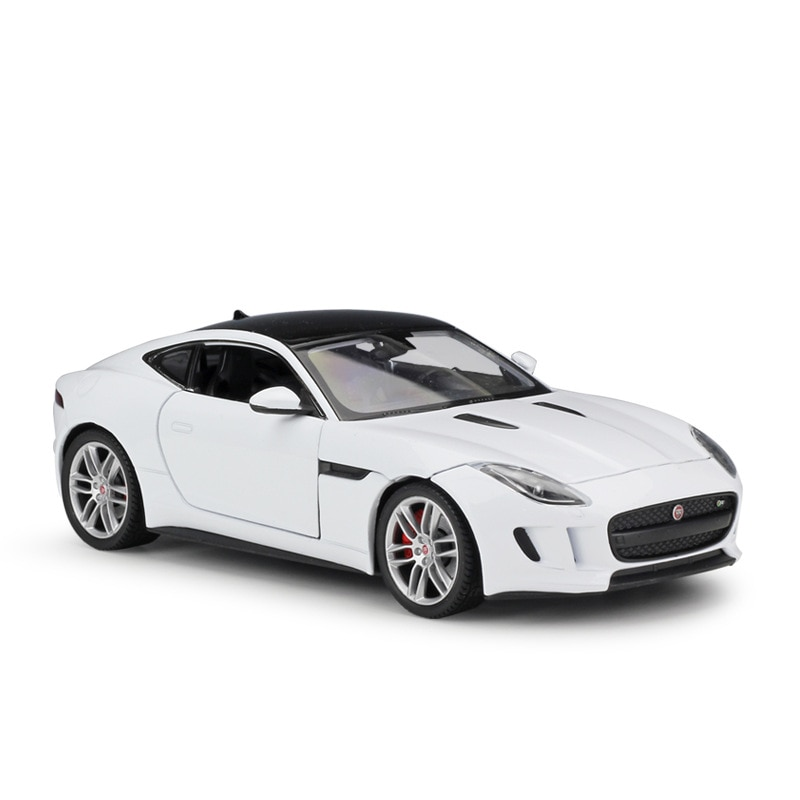 welly 24060 велли модель машины 1 24 jaguar f type WELLY 1:24 JAGUAR F-Type Coupe Metal Luxury Vehicle Diecast Pull Back Cars Model Toy Collection Xmas Gift