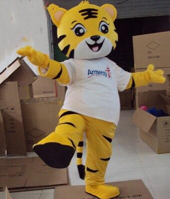 زي التميمة النمر الأصفر الملك النمر أنواع كثيرة من الدب زي التميمة الكرتون الحيوان فستان بتصميم حالم حجم الكبار