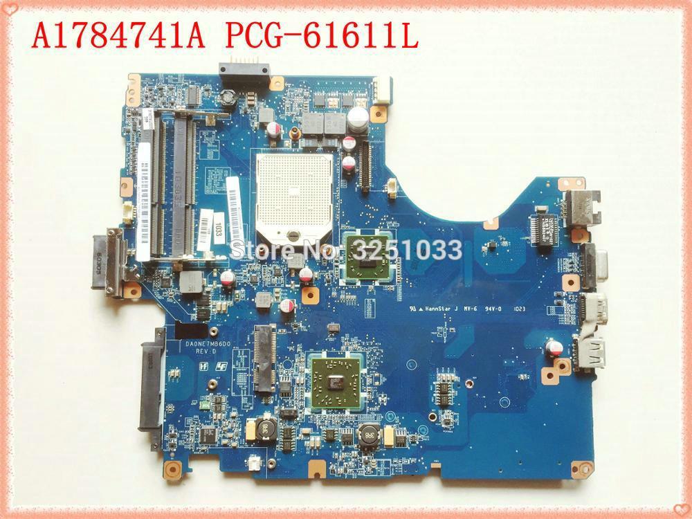 DA0NE7MB6D0 DA0NE7MB6E0 A1784741A اللوحة لابتوب sony PCG-61611L PCG-61611M PCG-61611N ddr3 اللوحة الرئيسية