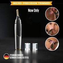 Mintiml™ New Micro-Precision Trimmer Portable Non-slip grip LED light Ultra-thin Ear Nose Brow Bea