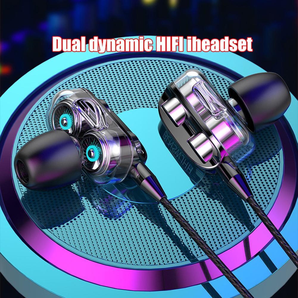 Auriculares estéreo de graves con cable de 3,5 MM, audífonos metálicos con...