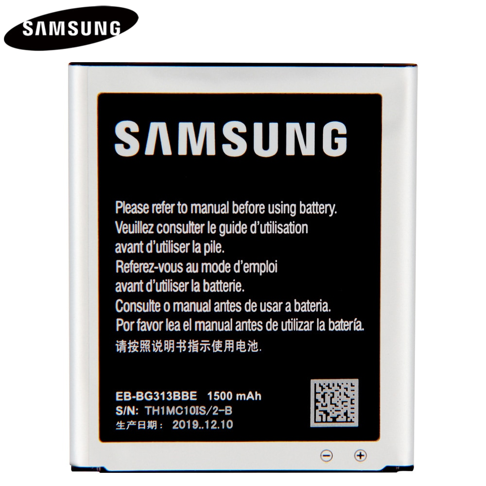Original Battery EB-BG313BBE For Galaxy SM-J106F J1 Mini Prime ACE 3 ACE 4 Lite /Neo G313H M S7272 S7898 GT-S7562 G318H J106F enlarge