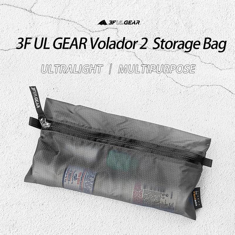 3F UL GEAR Volador 2 Wear-resistant Finishing Bag Multipurpose Sundries Bag Storage Bag A Toiletries