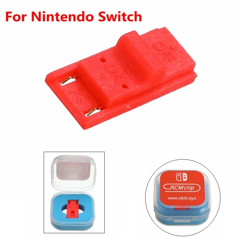 New Receplament Tool Short Circuit Modify Recovery JIG Mode Joycon Mod Hack Keyring For Nintendo Switch RCM / NS SX OS