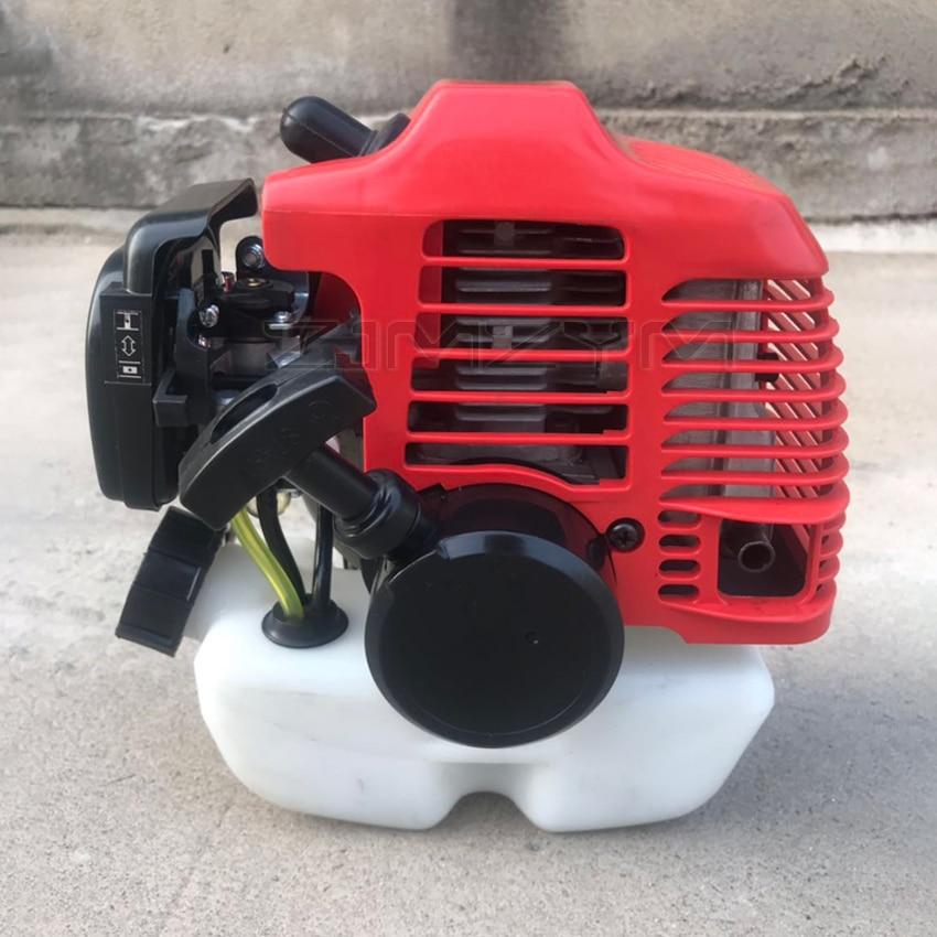 TU26 محرك البنزين 2-السكتة الدماغية عارضة أفقية ، تبريد الهواء الصغيرة 25.6CC تعمل بالطاقة على ظهره البنزين برومصراع الانتهازي Bower البخاخ