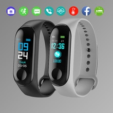 Men Exercise Fitness Record Electronic Watch Sleep Monitoring Heart Rate Monitor Watches Waterproof