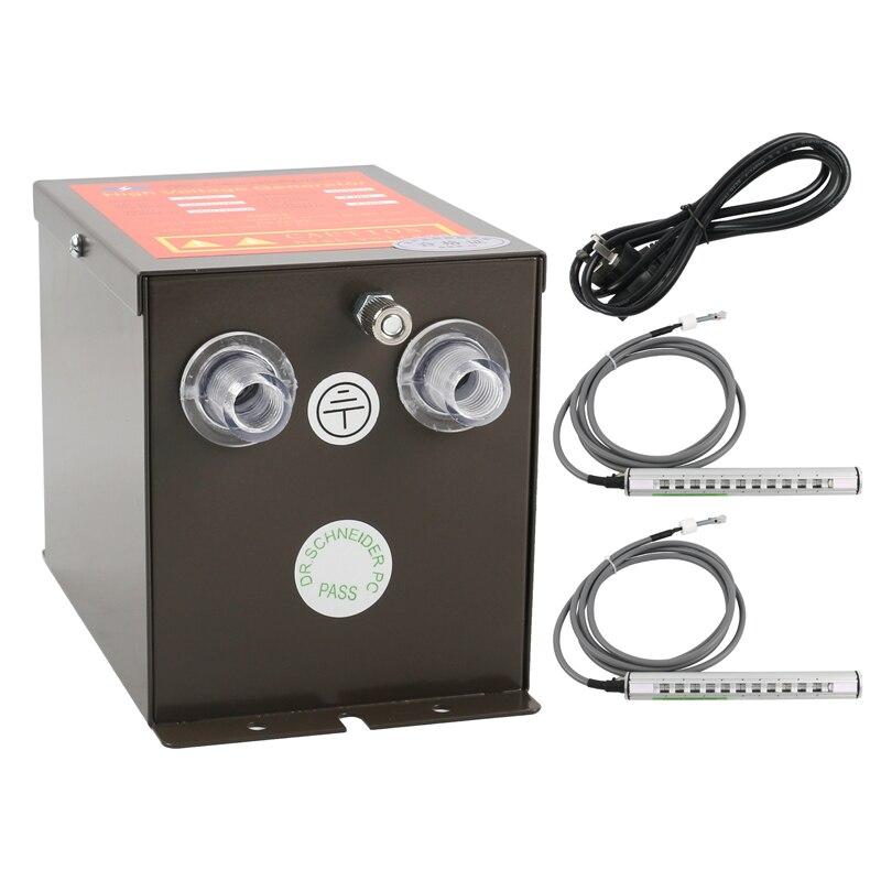 SL-009 ESD סטטי Eliminator אספקת חשמל + 2/pcs 350mm ESD מייננת אוויר אקדח מייננת מפוח אוויר אלומיניום בר סטטי חיסול