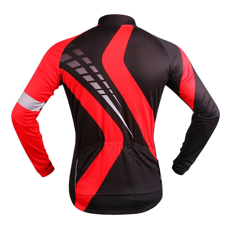 WOSAWE Men Women Jackets Long Sleeve Motorcycle Jersey Sports Cycling Bicycle MTB Bike Racing Road Riding Quick Dry Shirts enlarge