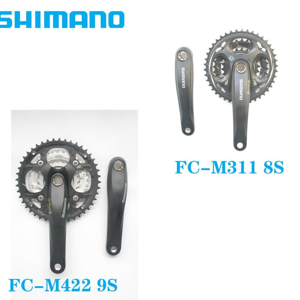 Shimano Alivio FC-M442 44-32-22T 175MM FC-M311/170/175MM 42-32-22T biela de bicicletas MTB 44T...