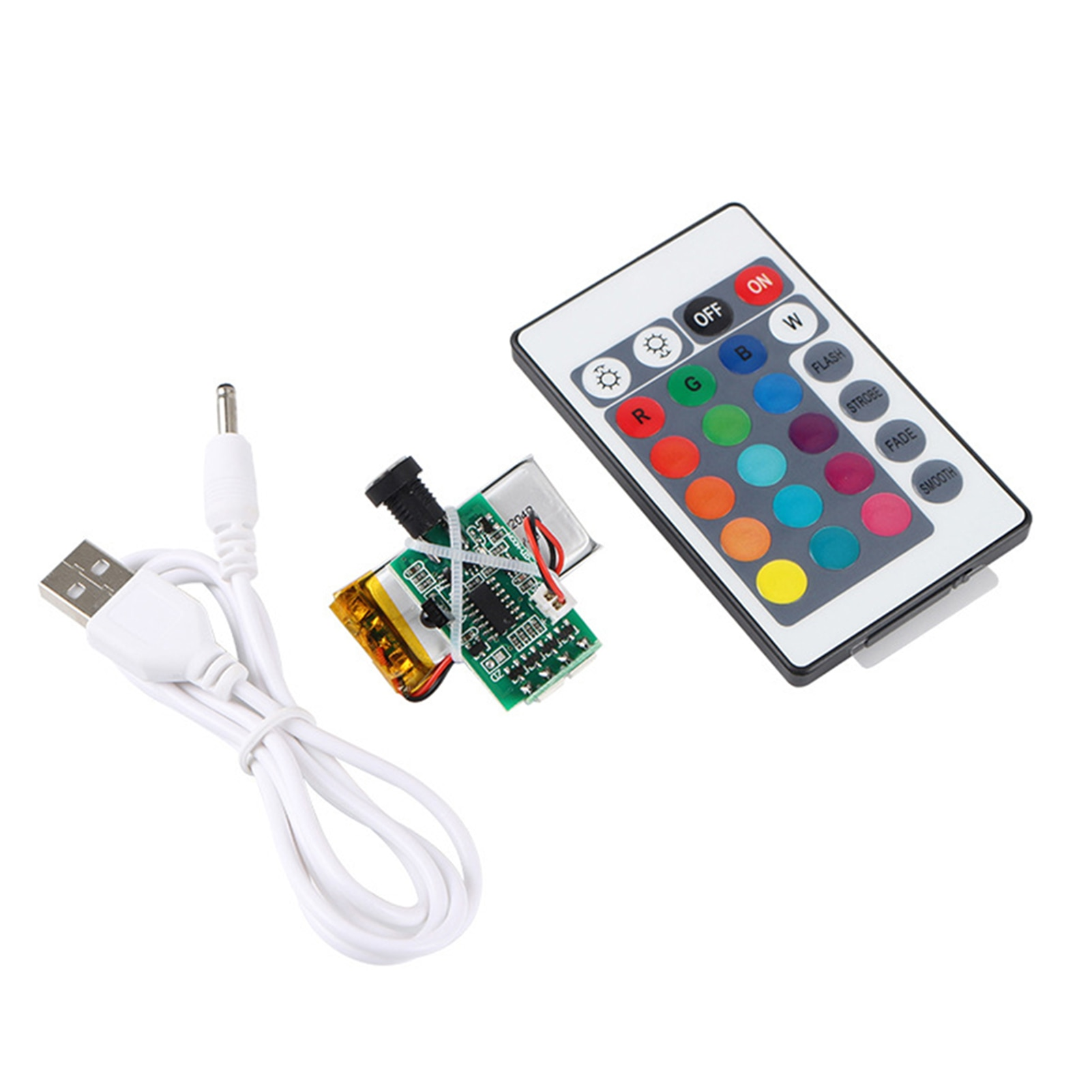 16 Colors LED Moon Lamp Board 3D Printer Parts Night Circuit Panel With Battery 1W Touch Sensor Remo