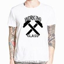 Mode Nieuwe Tees T-shirts Werken Klasse T-shirt Skinhead Oi Punk Streetpunk Huid Hoofd 1969 Zomer Mannen Kleding Casual Tops tees