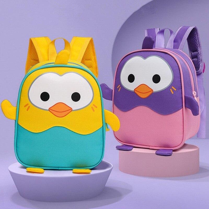 Детские рюкзаки с 3d-изображением животных, брендовые дизайнерские рюкзаки для маленьких девочек и мальчиков, школьные ранцы для малышей и д...
