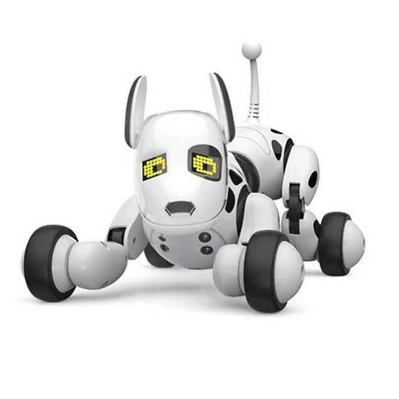 Rc Intelligent Robot Dog With Light And Music Programmable Multi-Action Performance A Playful Companion For Children