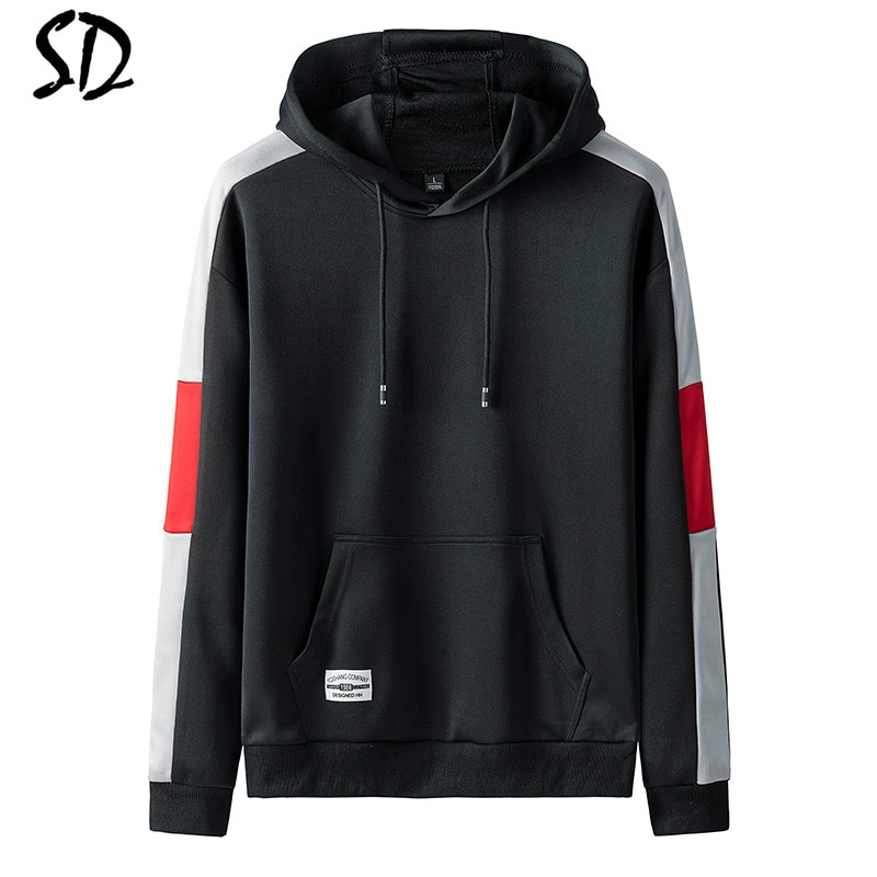 Sudadera con capucha de moda para hombre Casual Hip Hop hombres de manga larga impresa gruesa cálida Sudadera con capucha de lana para hombre alta Streetwear Naruto Sudadera con capucha