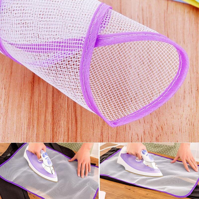 1 pc venda quente malha almofada de engomadoria de malha almofada de engomadoria esteira de pano almofada de isolamento de ferro de proteção de tábua de engomar de rede
