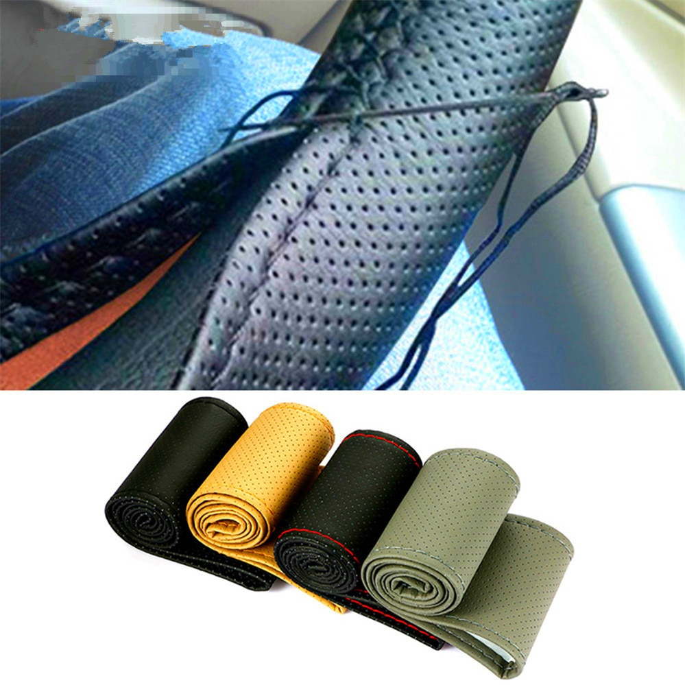38 centímetros Trança de Rosca Tampa Da Roda de Direcção do carro para BMW X7 X1 M760Li 740Le iX3 i3s i3 635d 120d 120i bater Avalanche 34