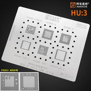 High quality for huawei Hi Hi6260 V100 V101 Hi3670 Hi3680 CPU RAM BGA Reballing reball Stencil