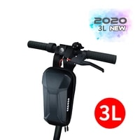3l electric scooter front bag for xiaomi mijia m365 ninebot es2 accessories head handle bag charger tool storage hanging bag