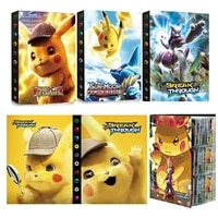 Big Size 9-Pocket Page 432Pcs Holder Album Toys Collections Pokemones Cards Album Book Top Loaded List Toys Gift for Children