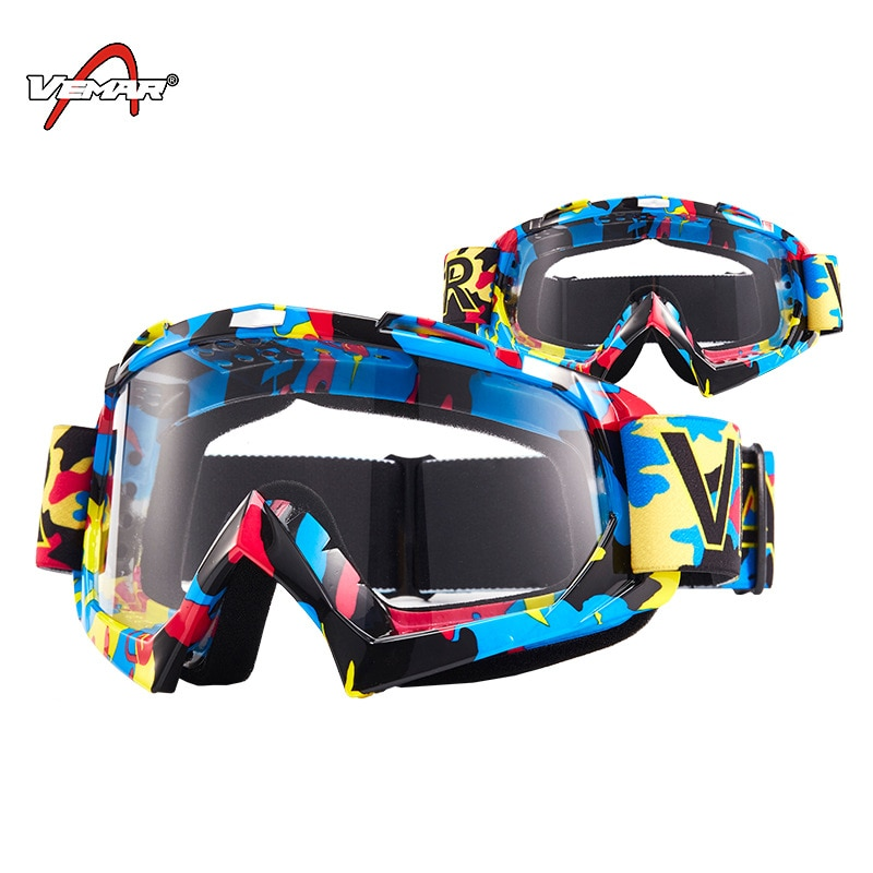 VEMAR Motorcycle Goggles Ski Glasses Motocross Goggles Eyewear Snowboard Glasses Moto Motorbike Dirt Bike Cycling Glasses Goggle