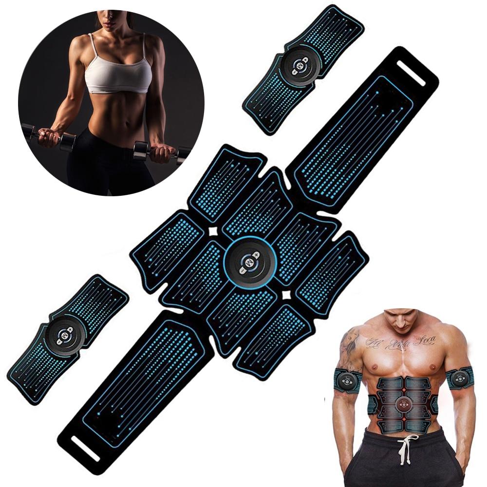 Electro Muskel Stimulation Bauch Stimulator Electroestimulador Muskel Hüfte Trainer Körper Abnehmen Sport Fitness Massage Gym