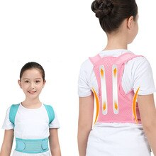 Profesional Kind Einstellbare Zurück Brust Unterstützung Gürtel Haltung Corrector Schulter Brace Band Haltung Richtige Orthesen Gesundheit Pflege