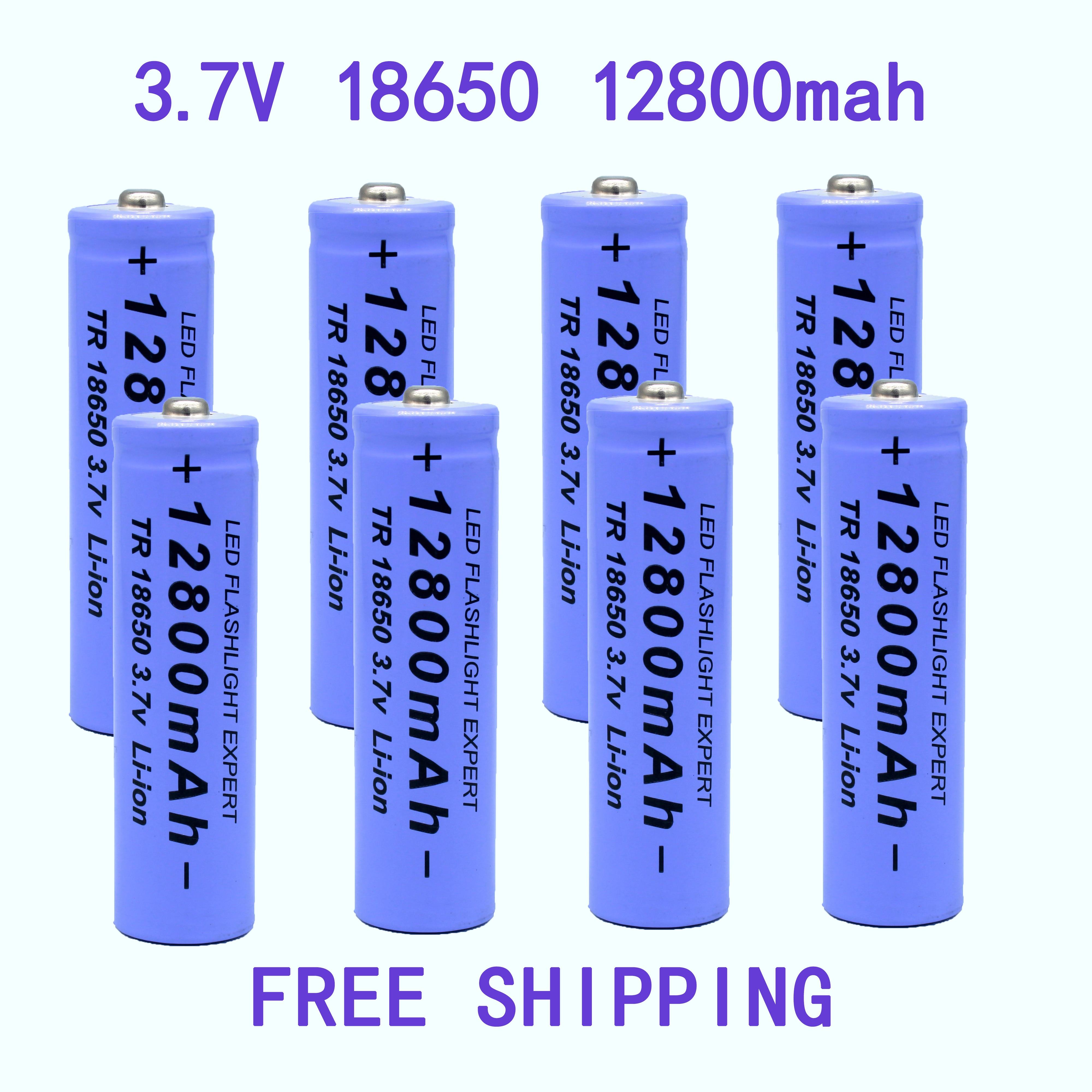 18650 bateria de alta calidad 12800 mah 3,7 v 18650 baterías de...