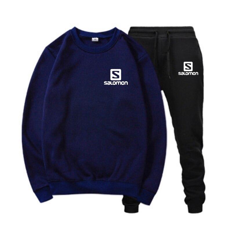 Conjuntos de ropa deportiva para hombre y mujer... Sudadera con capucha +...
