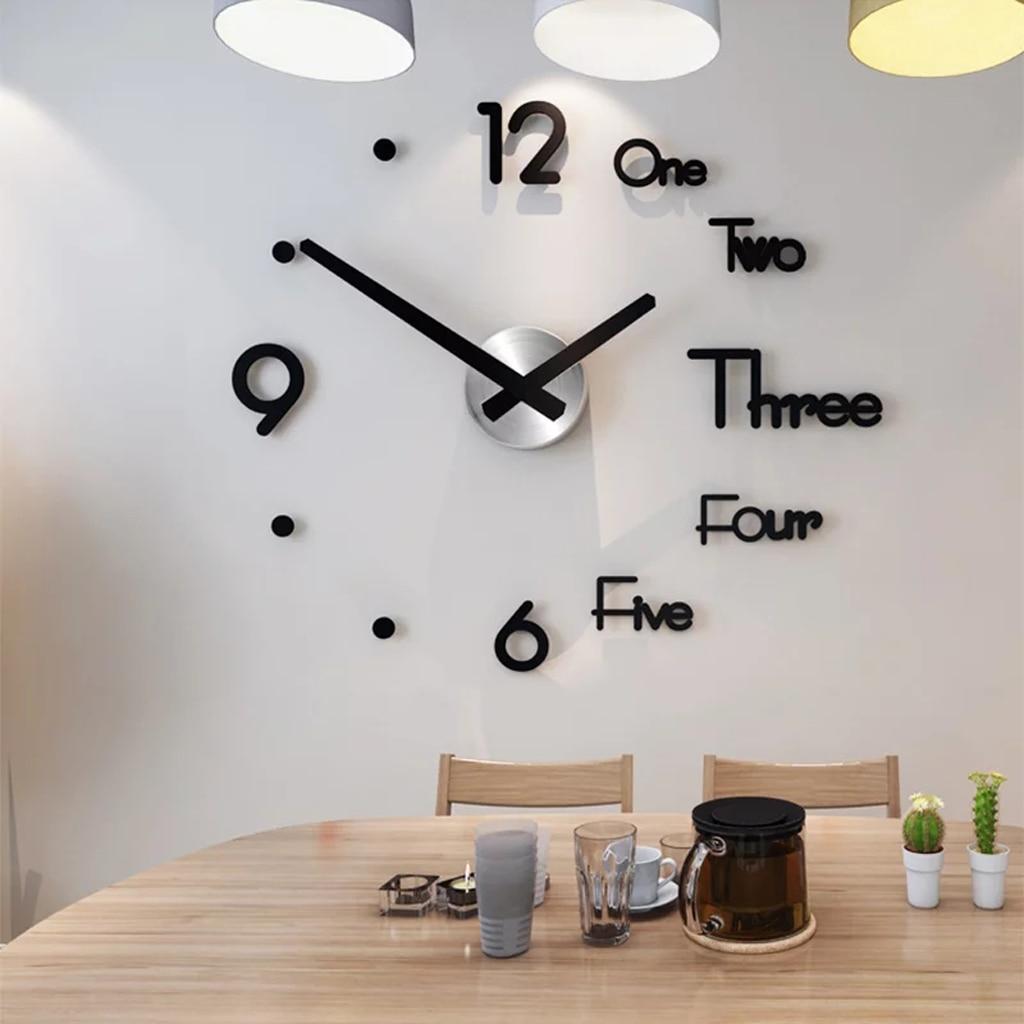 Pegatina moderna con estilo y moderno diseño sin marco decoración ajustable del hogar