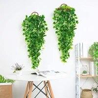 Plantes artificielles suspendues  2 pieces  Branches  feuilles de lierre  pour maison  mur de mariage  decoration interieure et exterieure  plantes artificielles
