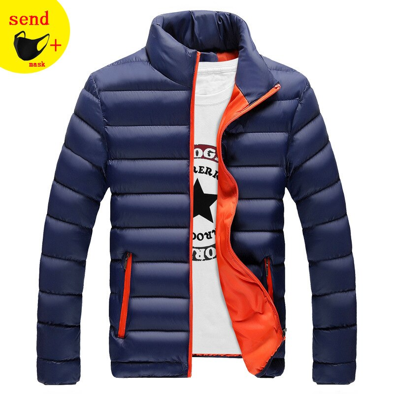 2020 New Jackets Parka Men High Quality Autumn Winter Warm Outwear Brand Slim Mens Coats Casual Wind