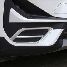 Стайлинг автомобиля для BMW X1 F48 2020 2021 ABS хром/углеродное волокно передний бампер с обеих сторон декоративные наклейки рамы автомобильные аксессуары