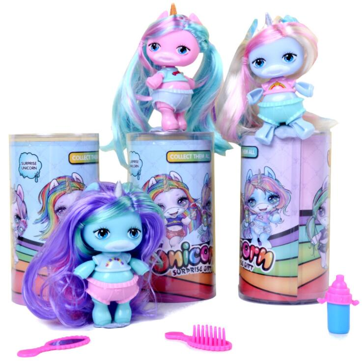 Poopsie Slime большой единорог мяч куклы какашки Игрушки для девочек хобби аксессуары Радуга яркая звезда кукла