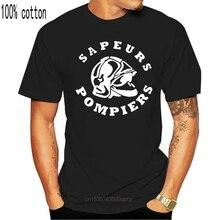 T-shirt inspiré des nouveaux Sapeurs Pompiers, offre spéciale, mode, cercle français, département des Pompiers, 2018, 018334