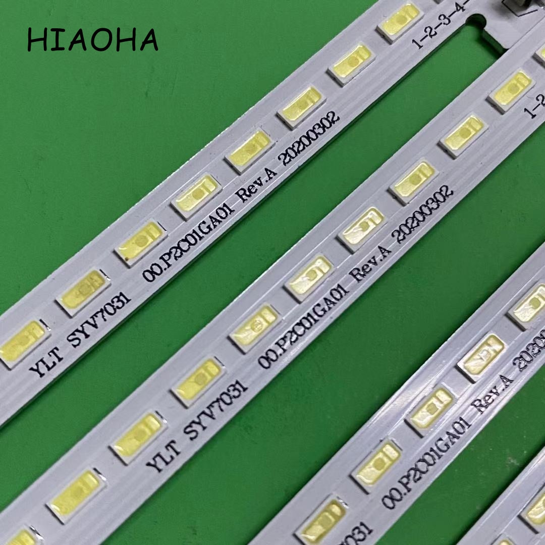4 pçs/lote novo led backlight strip 72 lâmpadas para sony 70 tv tv ylt syv7031 00. p2c01ga01 rev. a KDL-70W850B/70w830b