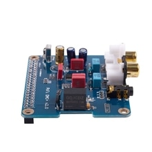 PIFI Digi DAC + Módulo de tarjeta de sonido HIFI DAC interfaz I2S para Raspberry pi 3 2 Modelo B + Digital tarjeta de Audio marcar producto V2.0 B
