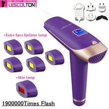 Original Lescolton 7in1 6in1 5in1 IPL Epilierer Dauerhafte Laser Haar Entfernung 1000000 mal depilador eine laser Photoepilator
