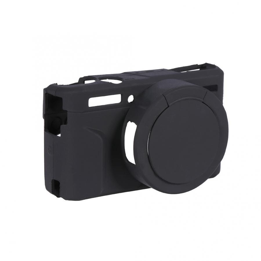 Sport kamera zubehör Schwarz Silikon Kamera Fall Käfig Schutz Abdeckung für Canon G7XII/G7X Mark II SPM action cam