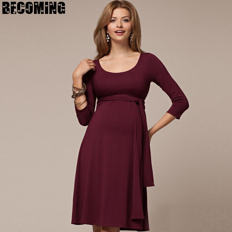 Brand New Pregnant Women Front Split Long Maxi Maternity Dress Gown Photo Photography Prop Lace Strapless Dress Chiffon 1701657 enlarge