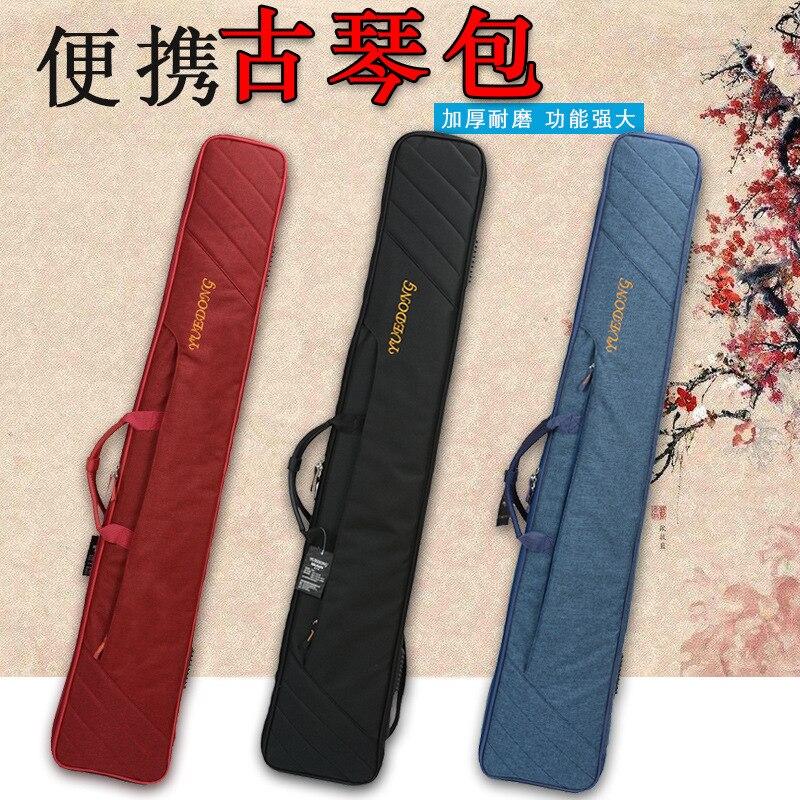 Bolso grueso Guqin mochila cinturón Piano Guqin caja mano Guqin SAC Soft Equipment Sports Case