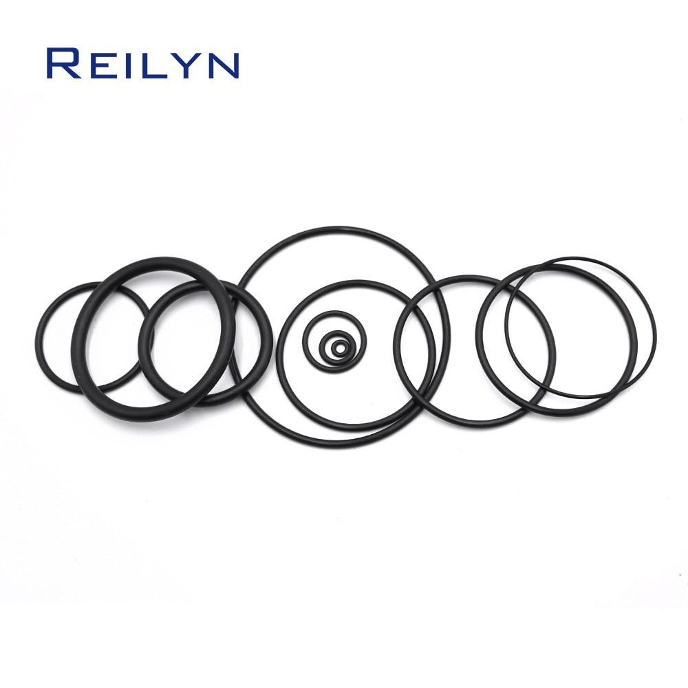 Запасные части для катушек CN55 CN70 CN80 CN100, 11 шт., Ремонтный комплект, пластиковое уплотнительное кольцо, пневматический гвоздик, запасные части...