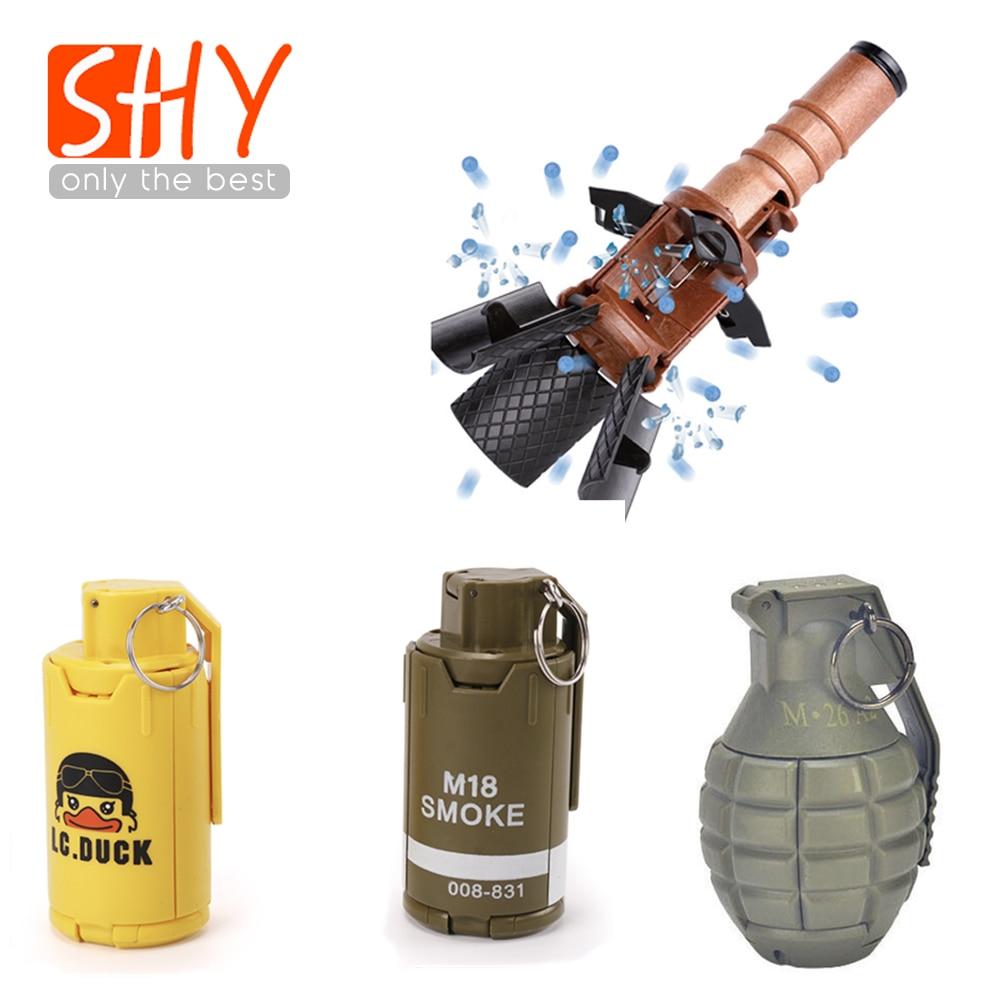 Water bomb thunder M18 grenade burst game model props children adult egg elite cs eat chicken