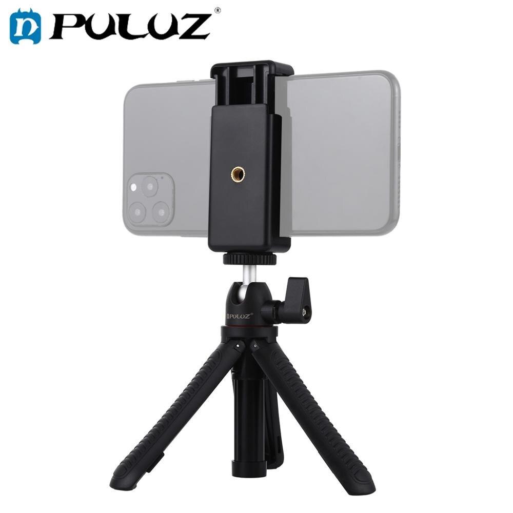 PULUZ palos Selfie trpode montaje + telfono abrazadera con adaptador de trpode...