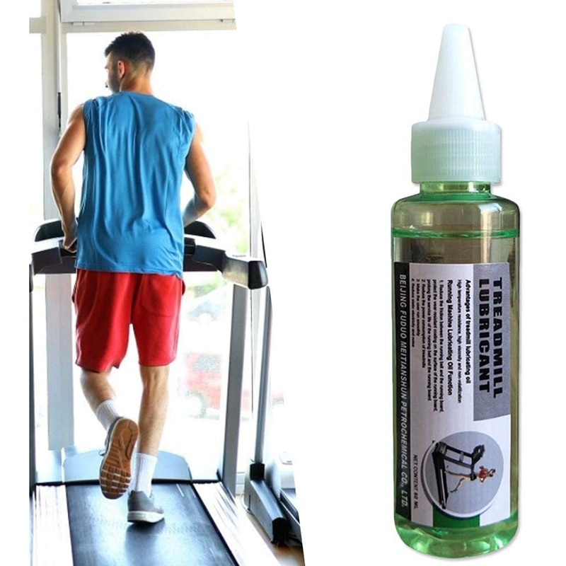 60ML Treadmill Special Lubricating Oil Running Machine Maintenance Silicone Oil Trainning Exercise Gym Accessories Fitness Sport