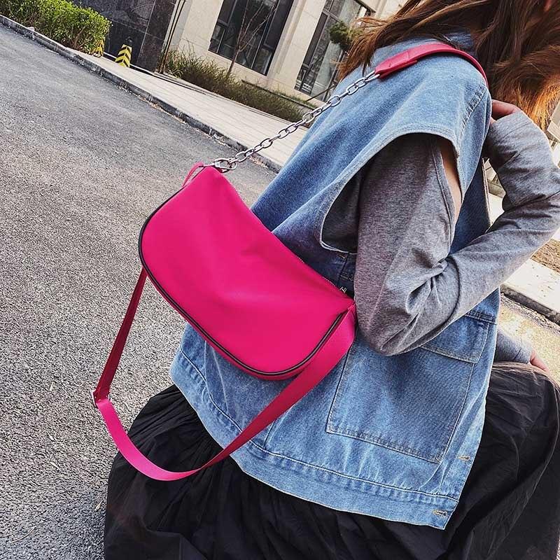 Crossbody Bags For Women 2020 Nylon Black Small Shoulder Bag Luxury designer Handbags Ladies Hand Purse Female Mini Clutch Bag